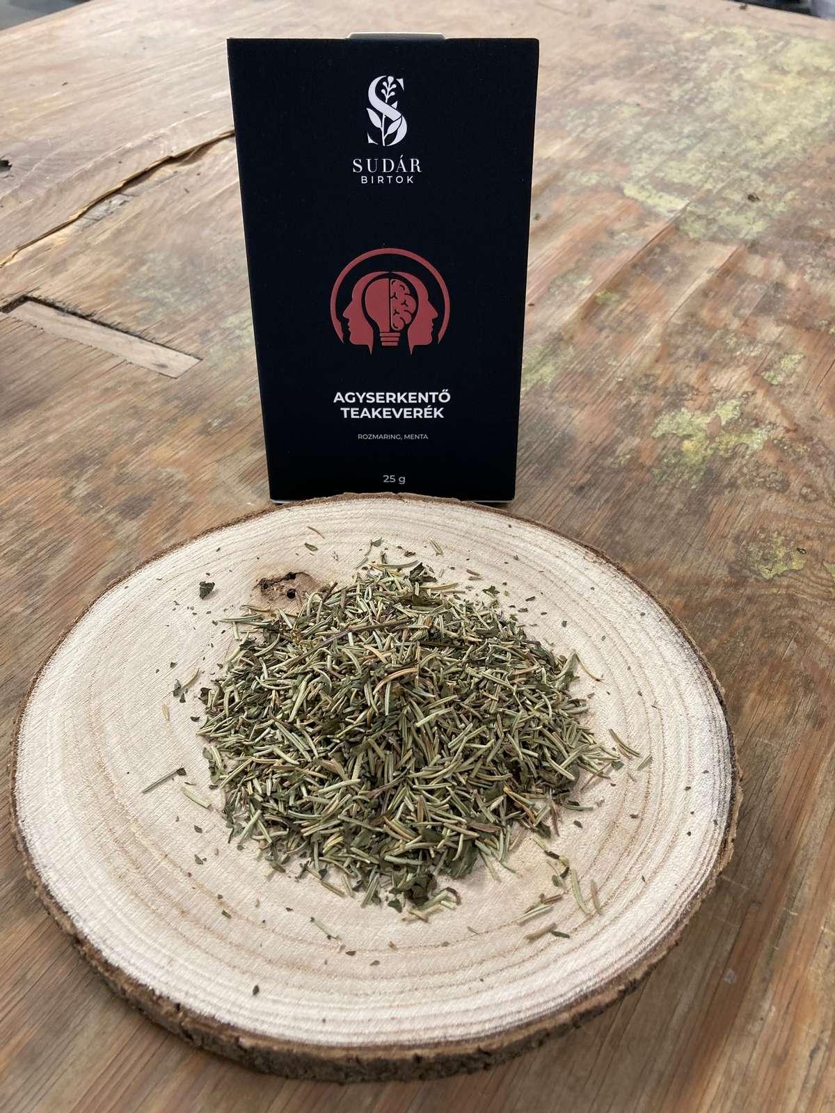 Agyserkentő teakeverék